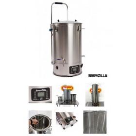 Электрическая пивоварня BrewZilla 65 л с чиллером