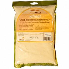 Сухой неохмеленный солодовый экстракт MUNTONS WHEAT (Пшеничный) 0,5 КГ