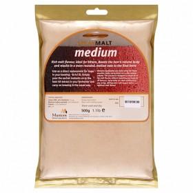 Сухой неохмеленный солодовый экстракт MUNTONS MEDIUM (Средней цветности) 0,5 КГ
