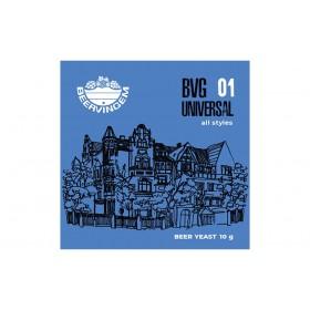 ДРОЖЖИ BEERVINGEM пивные универсальные UNIVERSAL BVG-01, 10 Г