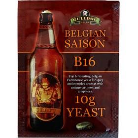 Дрожжи BullDog B16 Belgian Saison (Бельгийские Сезонные), 10 г, Англия