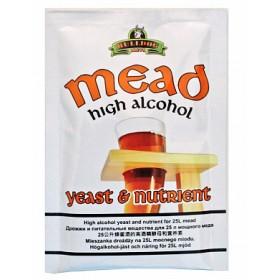 Дрожжи для медовухи BullDog Mead, 28 г, Англия