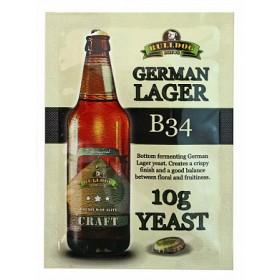 Дрожжи BullDog B34 German Lager (Немецкий Лагер), 10 г, Англия