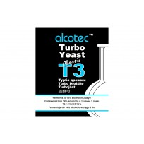 СПИРТОВЫЕ ТУРБОДРОЖЖИ Alcotec Classic T3, 120 Г