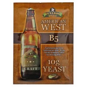 Дрожжи BullDog B5 American West (Американские Западные), 10 г, Англия