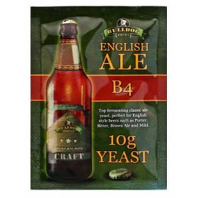 Дрожжи BullDog B4 English Ale (Английский Эль), 10 г, Англия