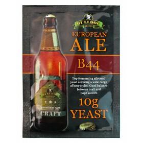 Дрожжи BullDog B44 European Ale (Европейский Эль) 10 г, Англия