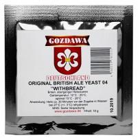 Дрожжи пивные Gozdawa British Ale 04 (Британский Эль 04), 10 г