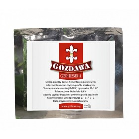 Дрожжи пивные Gozdawa Czech Pilsner 18 (Чешский Пилснер), 10 г