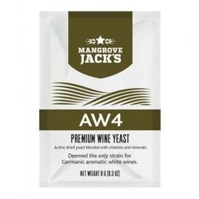 ВИННЫЕ ДРОЖЖИ MANGROVE JACK'S AW4 (Ароматное Белое Вино), 8 Г