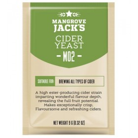 Дрожжи для сидра Cider Yeast M02, 10 гр
