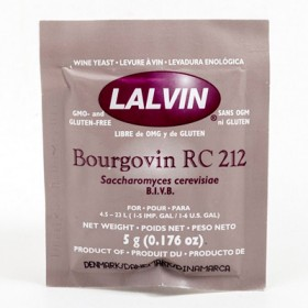 Винные дрожжи Lalvin Bourgovin RC-212, 5 гр