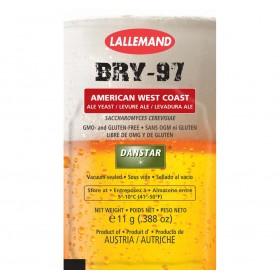 Дрожжи пивные Danstar BRY-97 American West Coast Yeast, 11 г