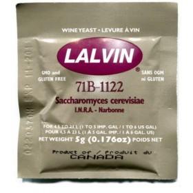 Винные дрожжи Lalvin 71B-1122, 5 гр