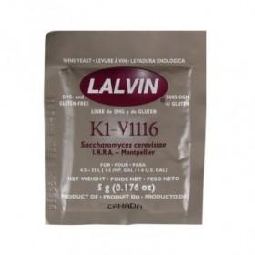 Винные дрожжи Lalvin ICV K1V-1116, 5 гр