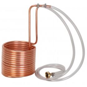 Охладитель погружной(чиллер), медь длина 15 м, диаметр10 мм