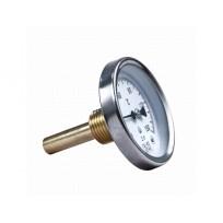 Термометр биметаллический (осевой) ТБ 63 0- 120 оС.