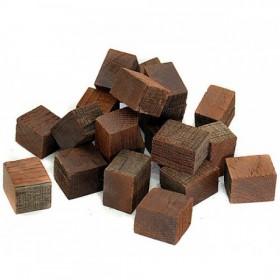 Кубики дубовые, средний обжиг, 100 г