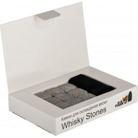 Камни для виски 9 штук в коробке