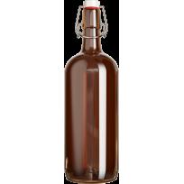 Бутылка с бугельной пробкой 1 л  1шт