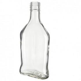 Бутылка «Фляжка» винтовая 0,25 л. 1 шт