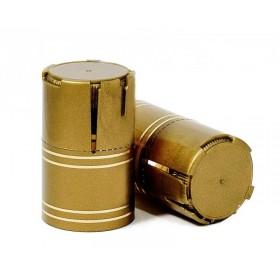 Колпачок «Купола Лайт» на винтовое горло, золото, 1 шт