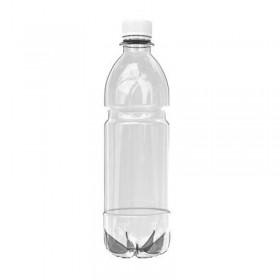 Бутылка ПЭТ 0,5 л, для хранения газированных напитков, прозрачная