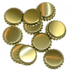 Кроненпробка золотая 26/6 мм 100 шт. Россия