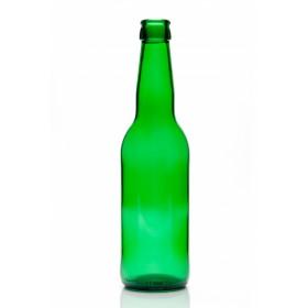 Бутылка пивная зеленая «Лонг Нек» 0,5 л. кейс 12 шт