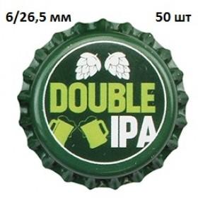 Кроненпробки 6 мм, «Double IPA» (Двойной ИПЭ), 50 шт