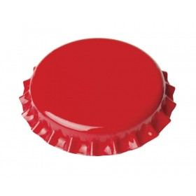 Кроненпробка красная 26 мм, 50 шт. Италия
