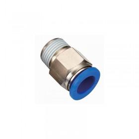 Коннектор для пневмошланга 12 мм, внешняя резьба G 1/2